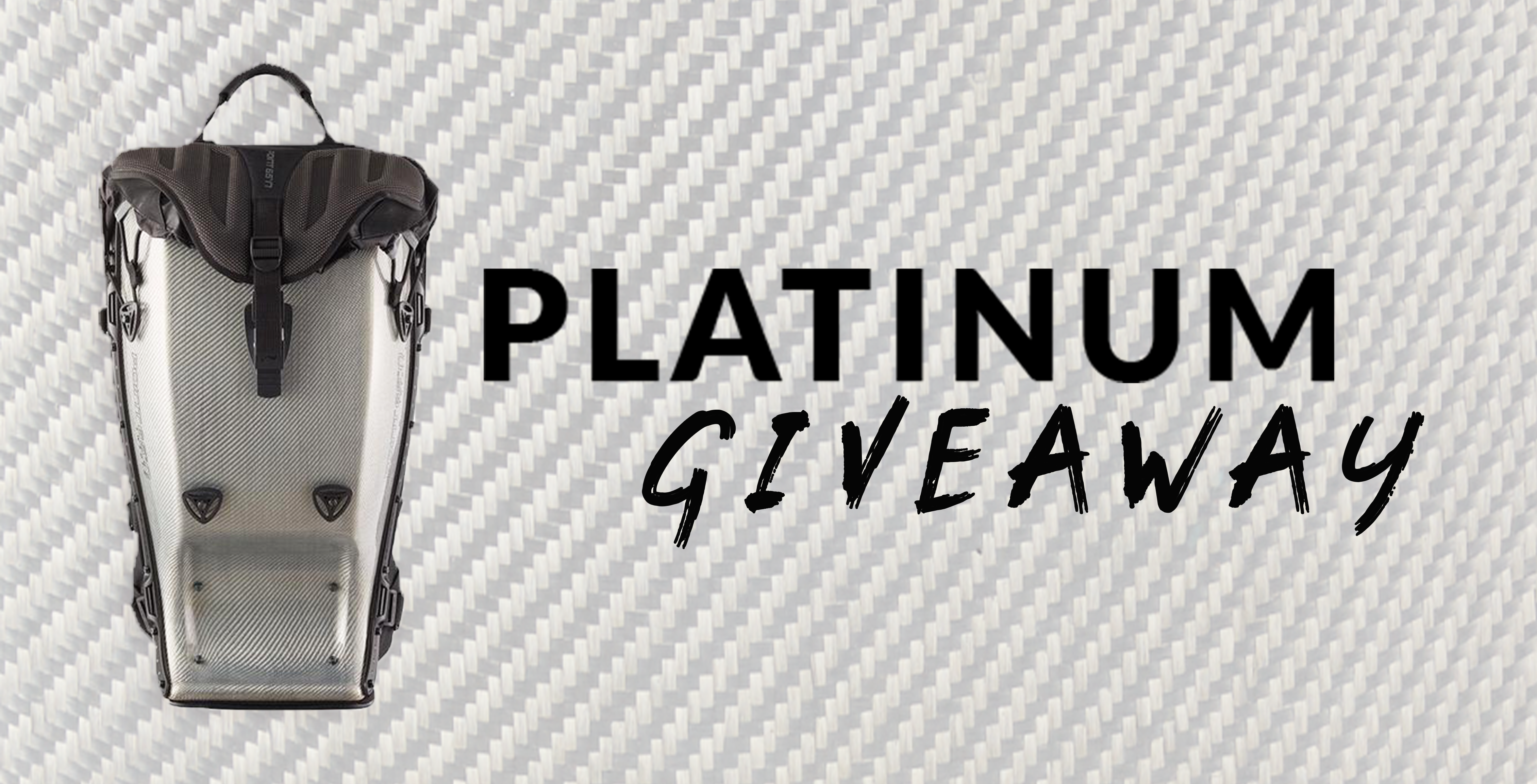Fall Giveaway - Win A Limited Edition GTX 25L Platinum! (Contest Ended)