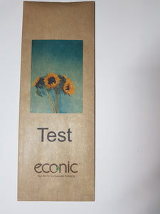 Custom Print Econic®Kraft Coffee 500g Bag: SAMPLE PACK
