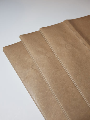 Econic®Kraft Compostable Coffee Bag 3kg - One Way Valve  (200 bags)