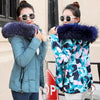 Image of Winter Women Fox Fur Jacket With a Hood