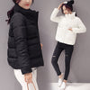 Image of Winter Women Thick Solid Cotton Padded Jacket
