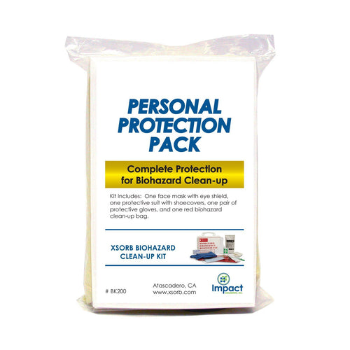 XSORB Biohazard Personal Protection Pack