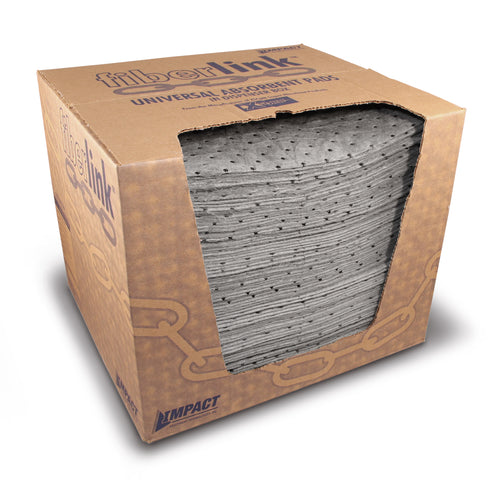 FiberLink Universal Absorbent Pads in Dispenser Box
