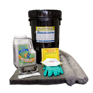 XSORB Outdoor All-Purpose with FiberLink Pads 6.5 gal Spill Kit