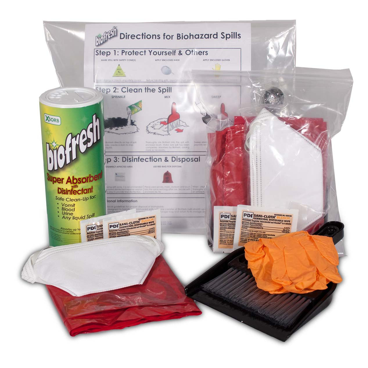 Biofresh Biohazard Kit