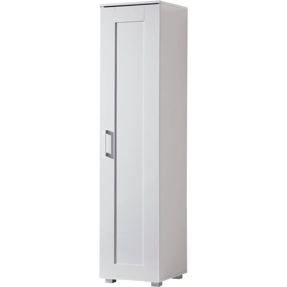 Montreal Cupboard Single Door Tall White