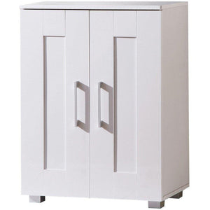Montreal Cupboard 2 Door Low White