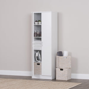 Multi-Purpose Cupboard 5 Tier White