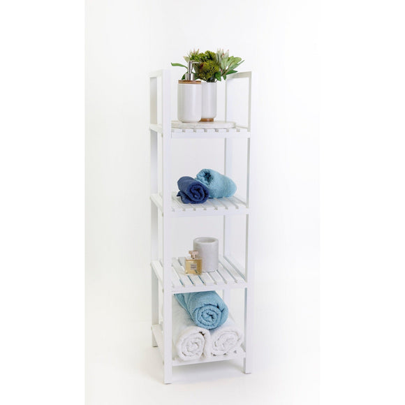 Maine 4 Tier Bathroom Multipurpose Shelf