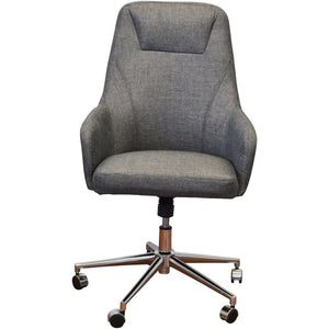Clyde High Back Executiv Office Chair - Charcoal