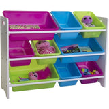 Mia Kids Storage Unit with 9 Bins