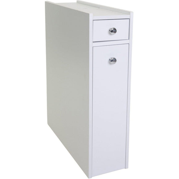 Bathroom Utility Cabinet - White