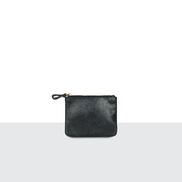 Pitch Black Credit Card Pouch