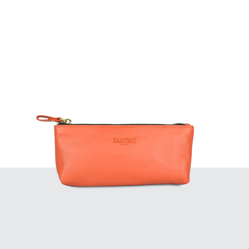 Tangerine Make Up Pouch