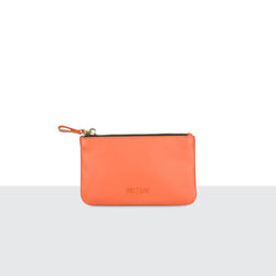 Tangerine Medium Pouch
