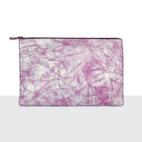 Silver Mist Pink Laptop Pouch
