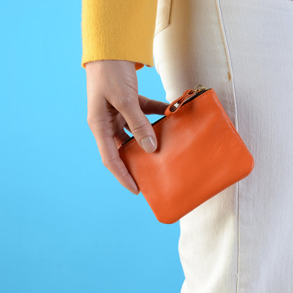 Tangerine Credit Card Pouch