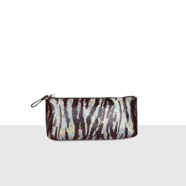 Zebra Disco Make Up Pouch