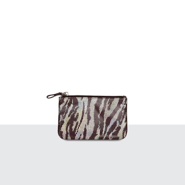 Zebra Disco Medium Pouch
