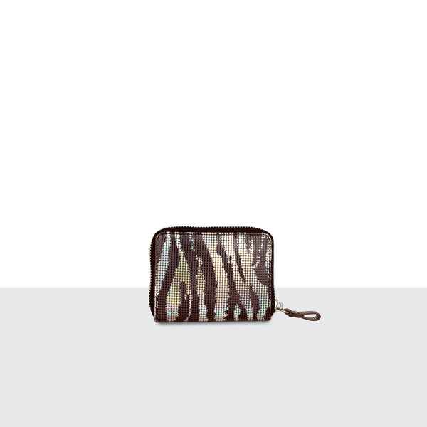 Zebra Disco Purse