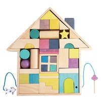building block house