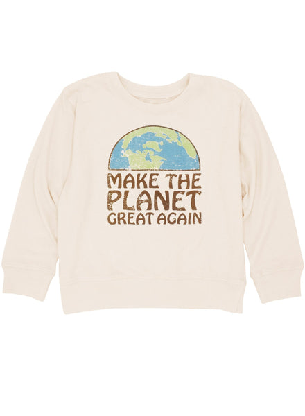 make the planet great {l/s tee}