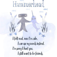 hammerhead snuggler {without book}