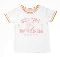 cosmic unicorns {boxy tee}