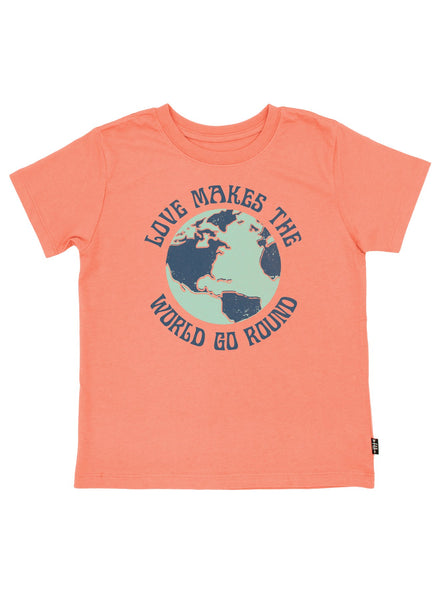 love makes the world go round {vintage tee}