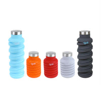 collapsible water bottle {bonfire red}