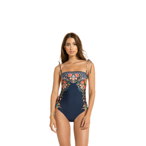Sandy Gypsy Embroidered One Piece