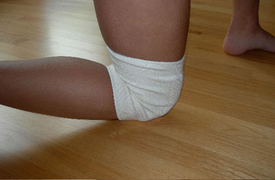 Natural Thin Dance Knee Pads