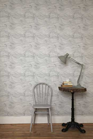 nautical wallpaper by abigail edwards