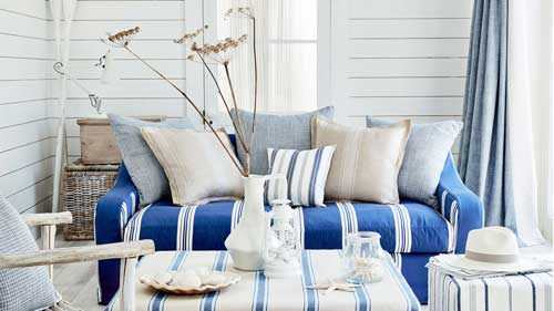 coast fabric collection by Ian Mankin