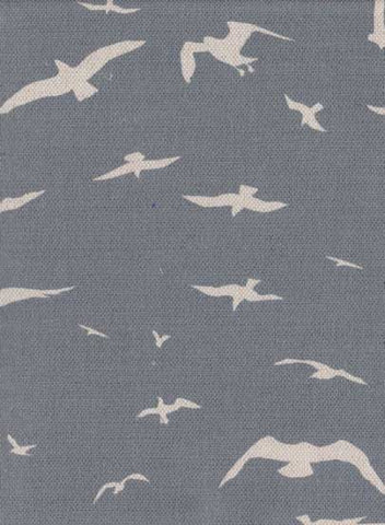 peony and sage - Seagulls curtain and blind fabric
