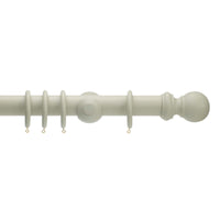 honister french grey curtain pole 50mm diameter
