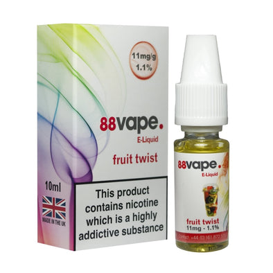 Fruit Twist E-Liquid by 88 Vape - 10ml