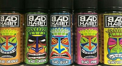 Bad Habit 100ml Shortfill E-Liquid