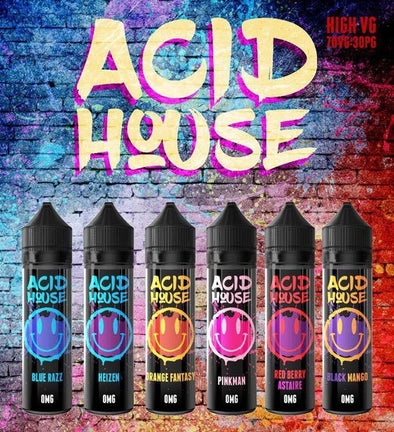Acid House 50ml Shortfill E-Liquid