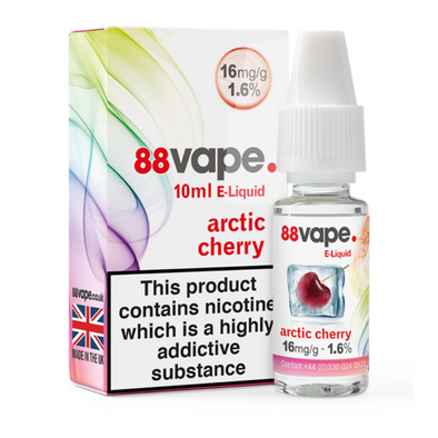 Arctic Cherry 11mg E-Liquid by 88 Vape - 10ml