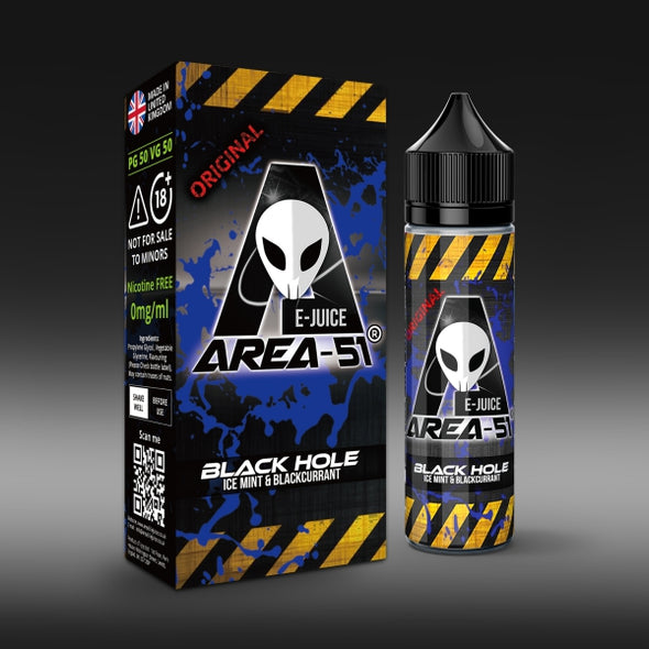 Black Hole by Area-51 E-Juice - 50ml Short Fill E-Liquid