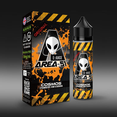 Cosmos by Area-51 E-Juice - 50ml Short Fill E-Liquid
