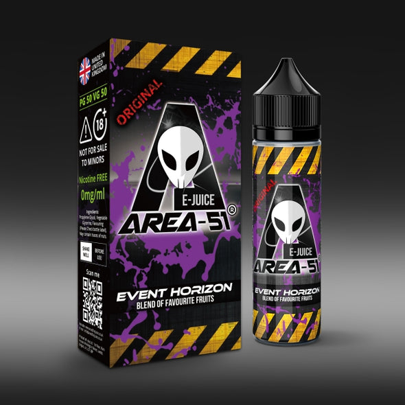 Event Horizon by Area-51 E-Juice - 50ml Short Fill E-Liquid
