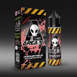 Prometheus by Area-51 E-Juice - 50ml Short Fill E-Liquid