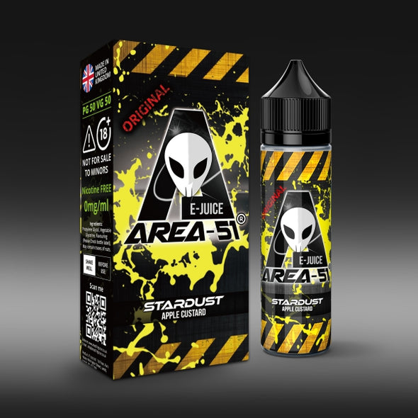 Stardust by Area-51 E-Juice - 50ml Short Fill E-Liquid