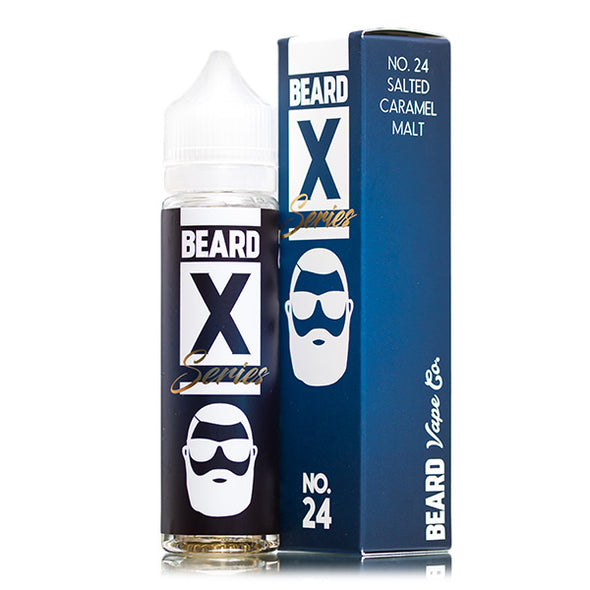 No.24 by Beard X Series 50ml Short Fill E-Liquid