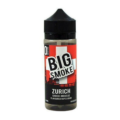 Zurich by Big Smoke 100ml Short Fill E-Liquid