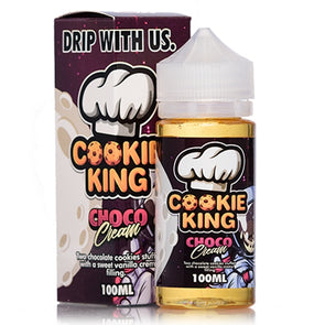 Choco Cream by Cookie King 100ml Short Fill E-Liquid