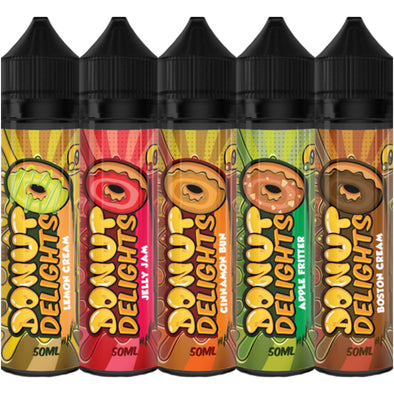 Donut Delights 50ml Shortfill E-Liquid
