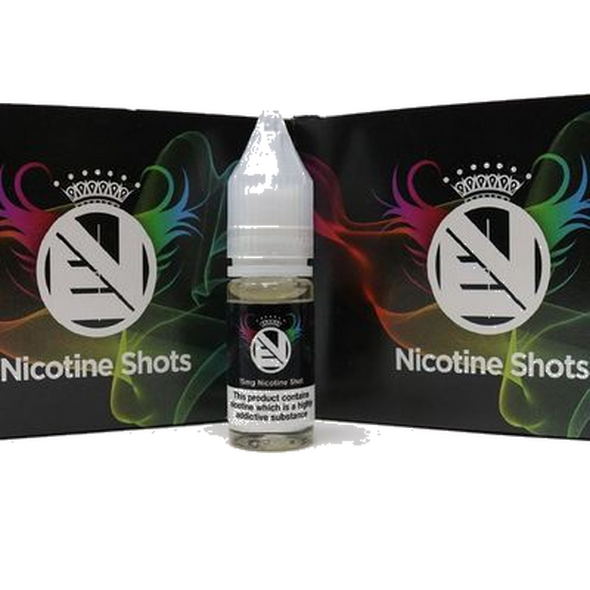 100 x Nic Shots Bundle 18mg High VG by Evolution Vaping